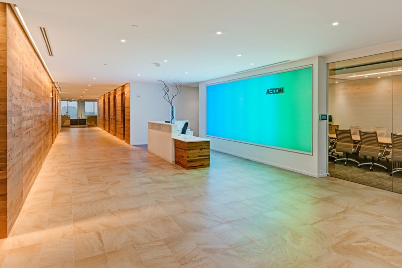 AECOM Corporate Office  •  Norfolk, VA  •  24,000 SF corporate office space